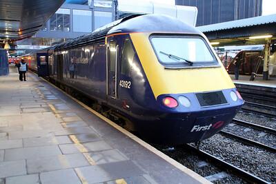 43192 on a Paddington service at Reading.