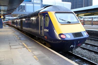 43094 on a Paddington service at Reading.