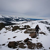 Traversing on the ridge