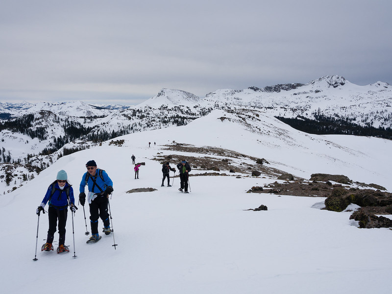 Following the ridge