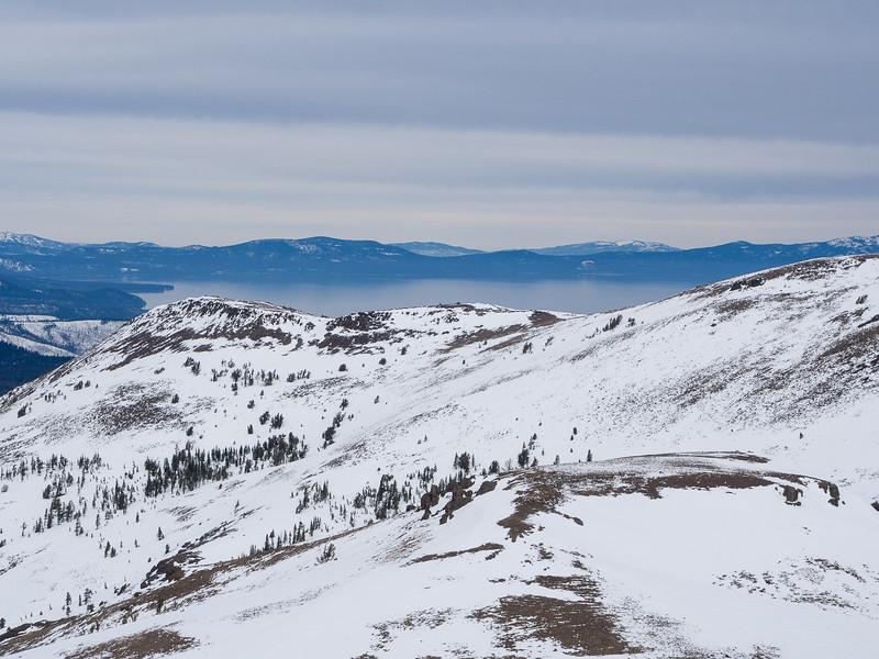 Lake Tahoe, over the next ridge
