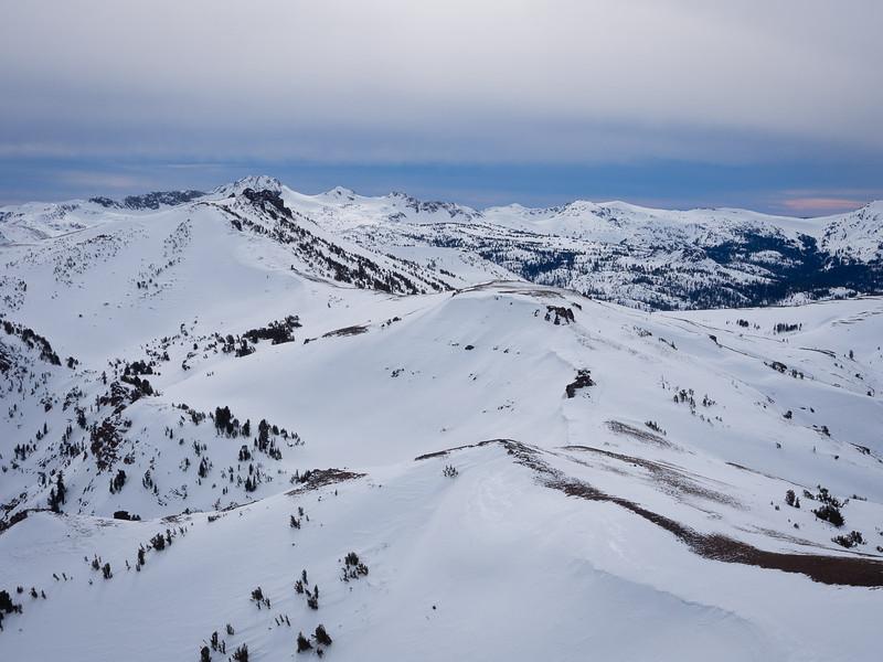 Back toward Red Lake Peak