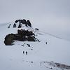 Descending from Red Lake Peak