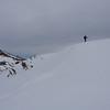 Reaching the ridge
