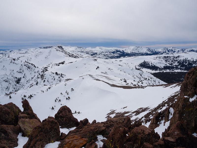 Long ridge back