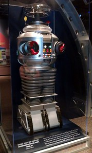 Replica of The Robot from Lost in Space