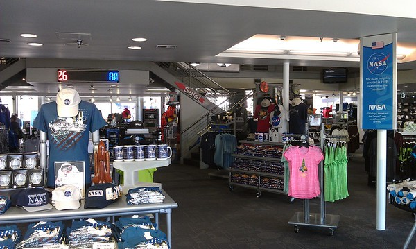 Main Kennedy Space Center Visitor Complex gift shop