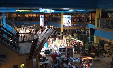 Inside the Ron John Surf Shop