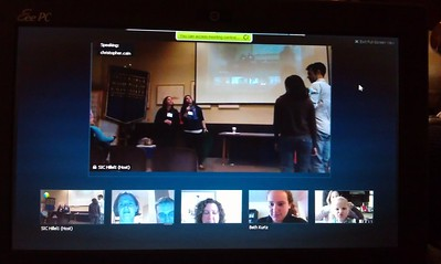 Craig participates remotely in Emily Pearl Goodstein's Birthday Conference