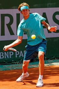 109. Alexander Zverev - Roland Garros 2013_109