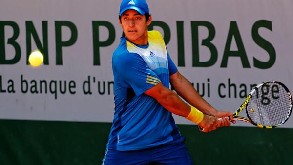 113. Christian Garin - Roland Garros 2013_113