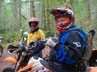 Rory's, Around the Sound & Green Mt Dual Sport Rides