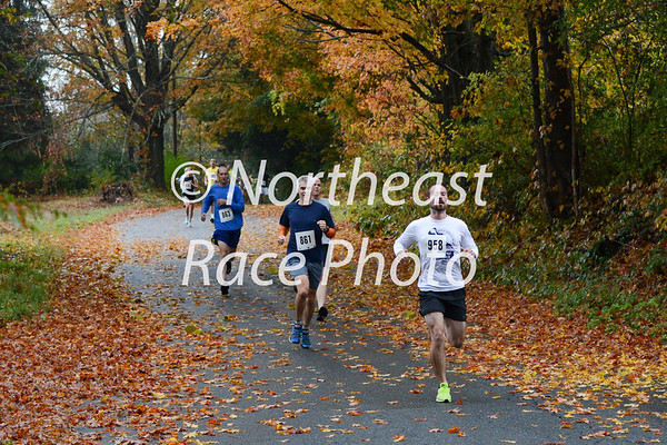 2013 Conway Covered Bridge Classic 10K Road Race mile 1