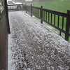 """TALK ABOUT """"NOISE"""" WHEN THIS HAIL HITS OUR 4 SKYLIGHTS UP IN THE LOFT...SCARY SOUNDS LIKE THEY ARE GOING TO BREAK THE WINDOWS"""