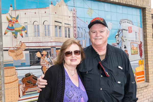 Lunch w/ Pops and Nana at El Mercado, San Antonio, Texas.