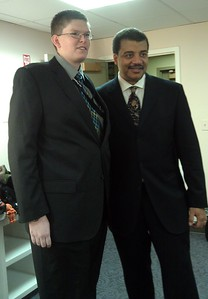 @josephgruber with Neil deGrasse Tyson (@neiltyson)