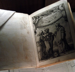 Original copy of Dialogo (Dialogue on the Two Chief World Systems), by Galileo Galilei (1632), in the Lessing J. Rosenwald Collection of the Rare Book and Special Collections Division at the Library of Congress