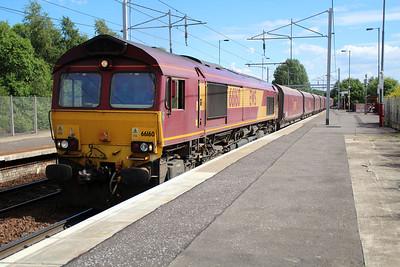 66160 1608/6G08 Hunterston-Longanett passes Coatbridge 20/06/13.