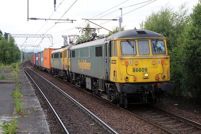 86609_86622 1925/4L81 Coatbridge FLT-Tilbury passes Coatbridge 20/06/13.
