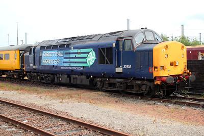 37603 in Mossend sidings 20/06/13.
