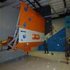 Hi-tech boulder wall
