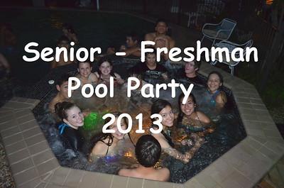 Senior - Freshman Pool Party 2013