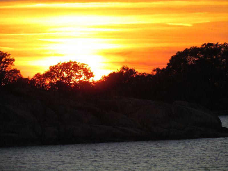 Solnedgång  Foto Anita