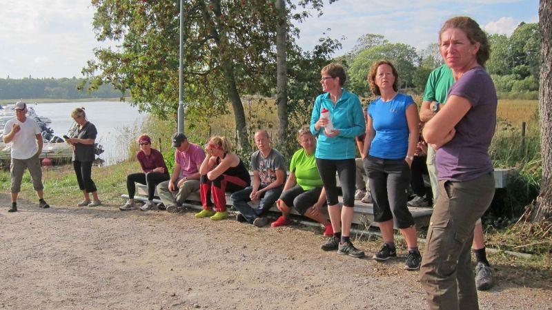 Bengt, Rosel, Päivi, Vincent, Nilla, Johan, Elisabeth, Lena, Anna och Stina Foto Per