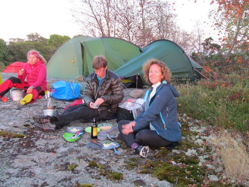 Nilla, Lena och Anna  Foto Anita