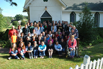 There were 76 people who went on the honors big sweep trip this year.