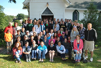 There were 76 people on this years honors big sweep trip.