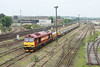 "26 September 2013 :: 60065 at Eastleigh undertaking its ""super shunter"" duties"