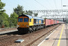 5 September 2013 :: 66712 passing Colchester working 4M23 from Felixstowe to Hams Hall