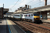 "5 September 2013 :: 90008 ""The East Anglian"" at Ipswich with 1P43 the 1400 from Norwich to Liverpool Street"