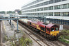 26 September 2013 :: 66120 at Southampton working 6B94 from Fawley to Eastleigh