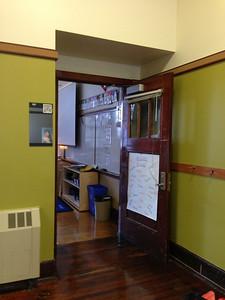 Her classroom, room 137.
