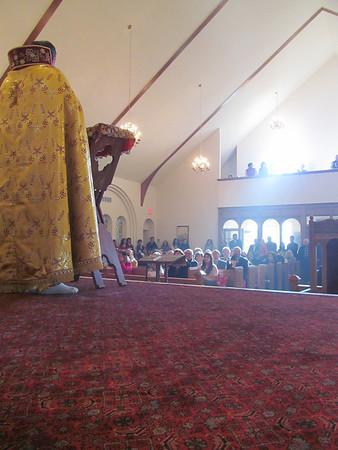 Nativity Badarak and Shnorhali School Hantes 2013