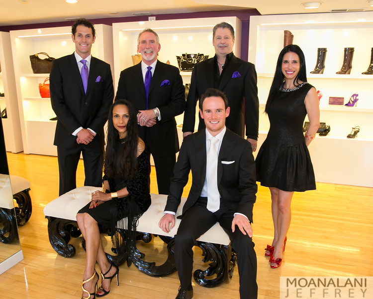 6339.jpg (Standing) ?, Wayne Kaleck, Michael Rose, Terena Robbins, (Seated) Schenell Crichlow, Thomas Cox
