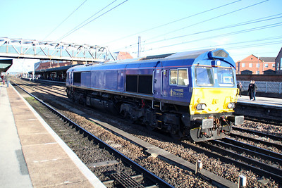 66750 1130/0z45 Roberts Road-Roberts Road route learner passes Doncaster.