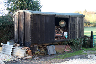 uid Grounded 10/12t Non Vent Van at Coupland Farm off A6075, Lincoln Road, in Tuxford.