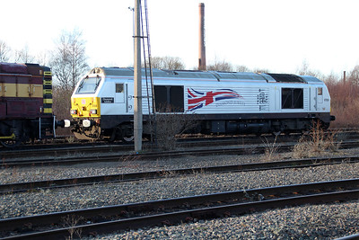 67026 on Doncaster Carr TMD.