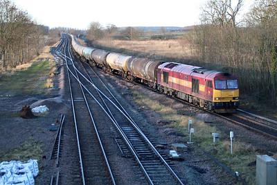 60065 0911/6E46 Kingsbury-Lindsey passes Brocklesby.