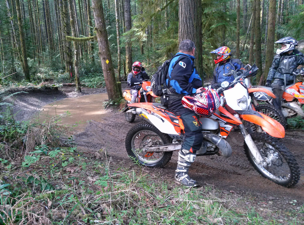 Two endruo riders resting with us..