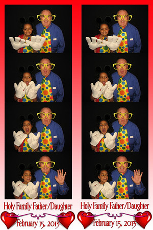 Holy Family Father Daughter Dance February 15, 2013