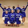 2012-13 Cheer and Pom Squad: (1st row) Sheyli Thomas, Amber Parker, Daniella Lescure; (2nd row) Rebecca Waggoner, Alisha Davis, Ruth Ungang, Saleena Deal, Jade Hodge