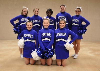 Cheer & Pom Squad 2012-13