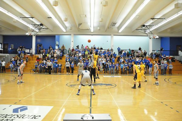 M Basketball Feb. 23rd