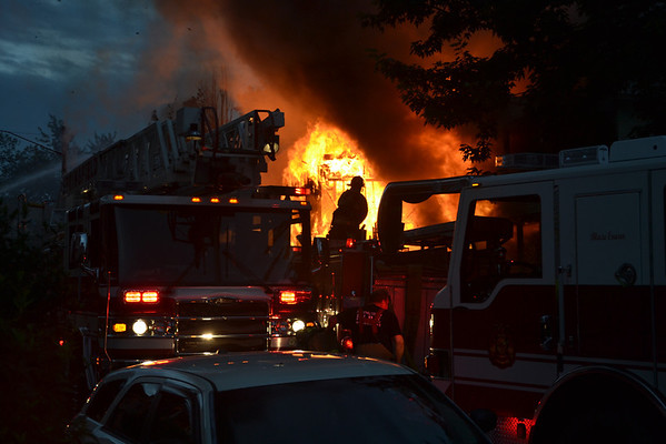 Springfield, MA 2nd Alarm + Spc. Call 46-48 Chase Ave. 7/3/13