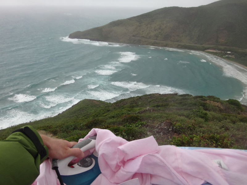 But the ironing views were awesome :)