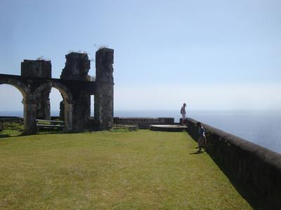 Brimstone Hill ruins